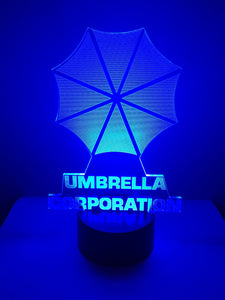 Lampe 3D DEL Umbrella Corporation Resident Evil