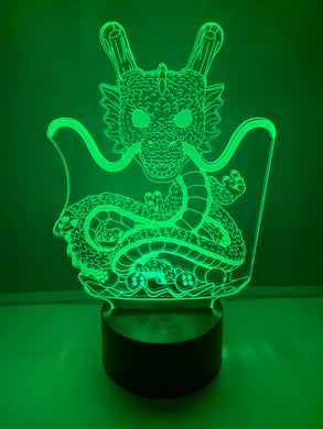 Lampe 3D DEL Dragon Dragon Ball