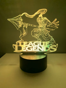 Lampe 3D DEL League Of Legends