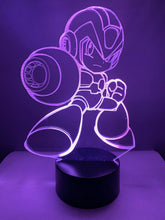 Lampe 3D DEL Mega Man X Powered Up (Megaman)