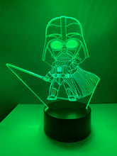 Lampe 3D DEL Darth Vador Star Wars