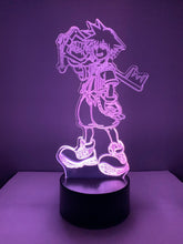 Lampe 3D DEL Sora Kingdom Hearth