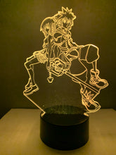 Lampe 3D DEL Kingdom Hearth