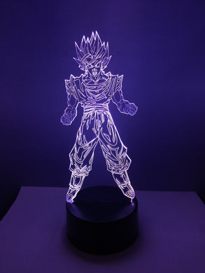 Lampe 3D DEL Vegito Dragon Ball