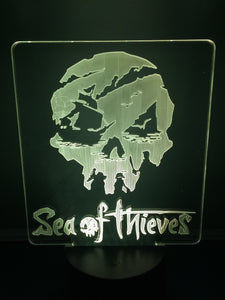 Lampe 3D DEL Sea Of Thieves