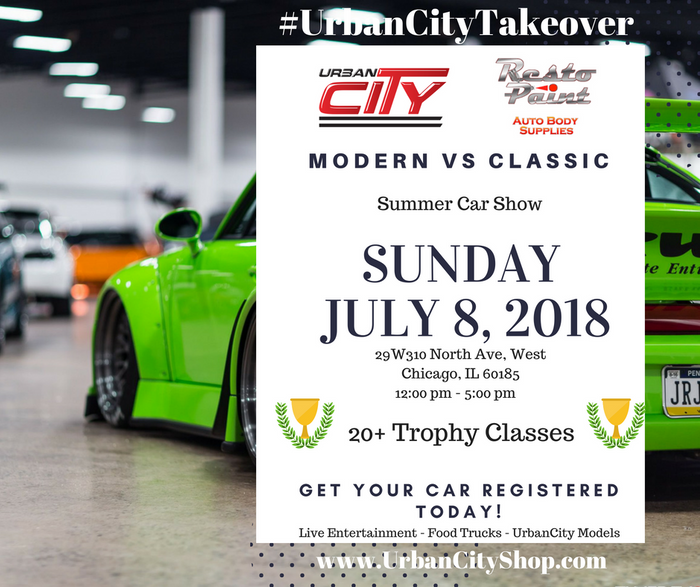 #UrbanCityTakeover Summer Car Show 7.8 (completed)