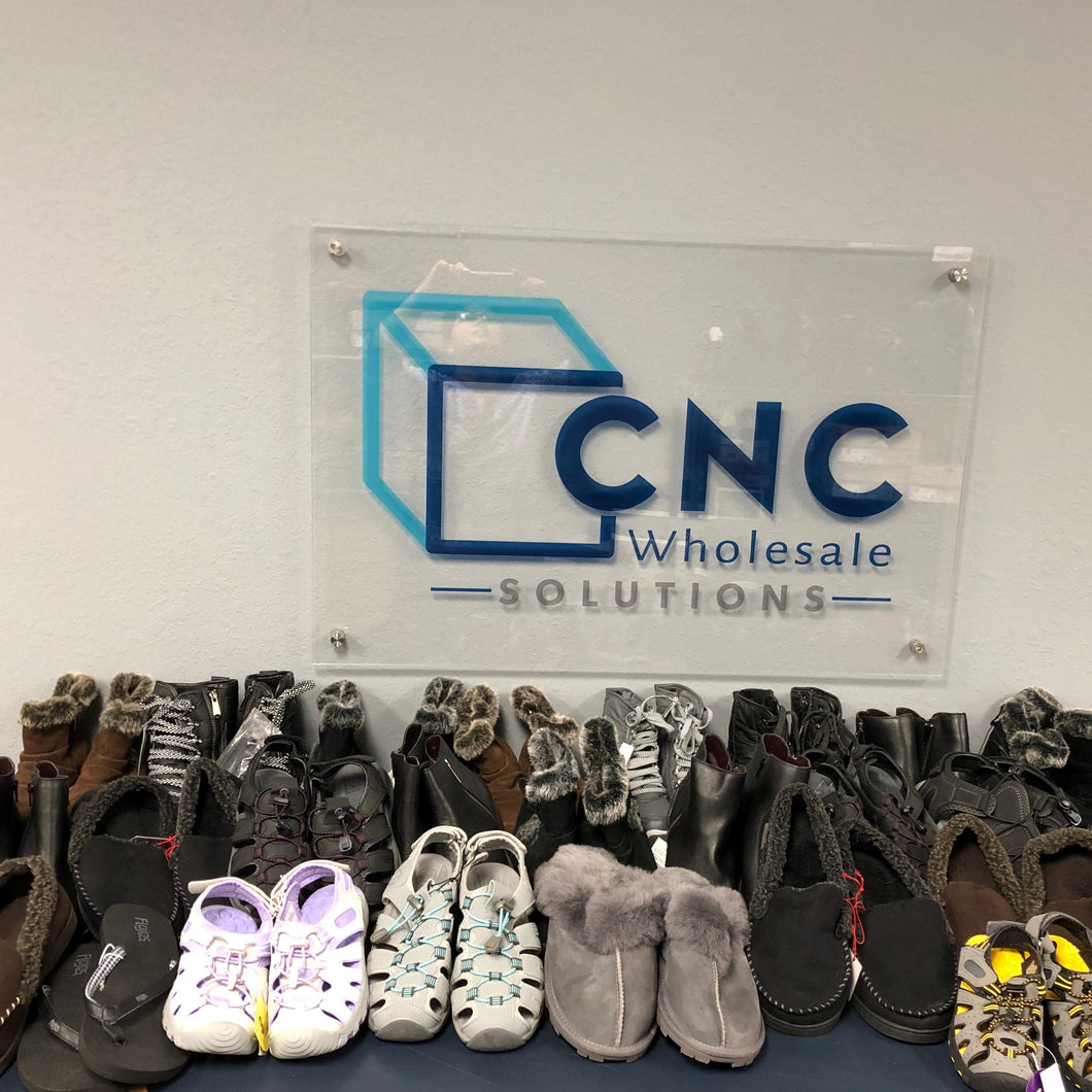 A-Grade Footwear Lot - 25pcs - Brands Included -  Kirkland, Deerfoams, Kensie, Weatherproof & More!