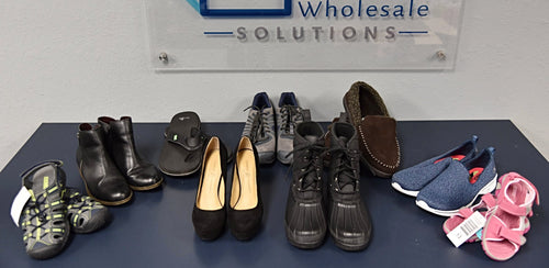 B-Grade Footwear Lot - 25pcs - Brands Included - Khombu, Reebok, Chinese Laundry, Puma, Kensie, Sanku & More!