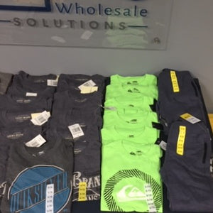 All NEW - 30 PC Kids Quiksilver, Lee & Lucky Lot!