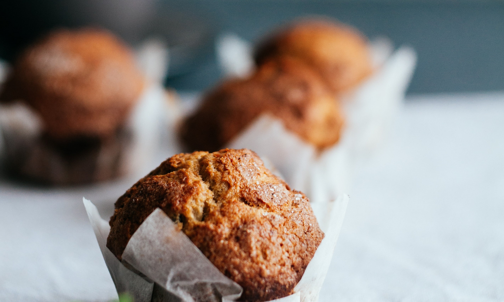 Chai Spiced Tea Muffins