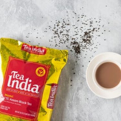 Chai tea with Tea India