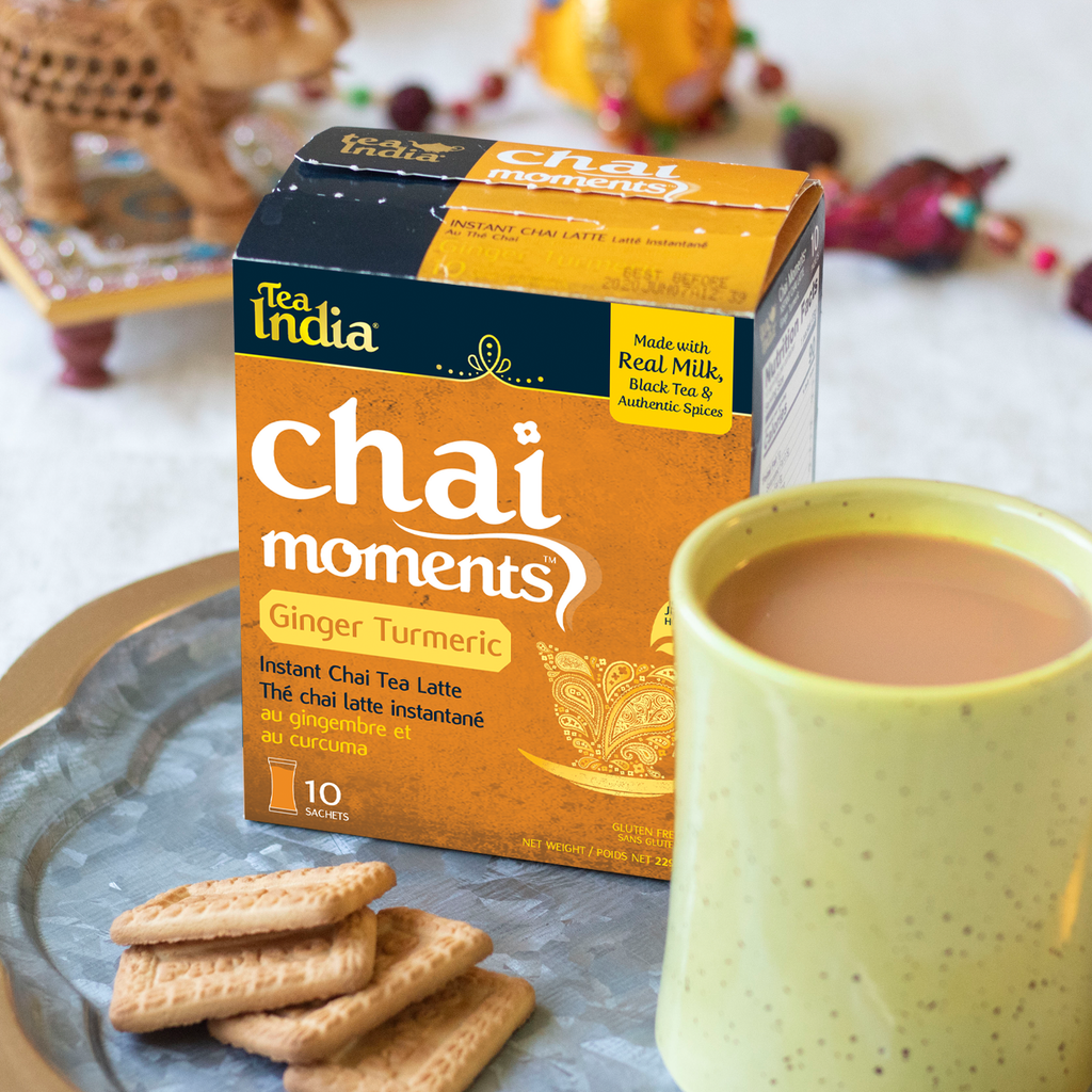 Chai Moments - Ginger Turmeric Instant Chai Tea Latte