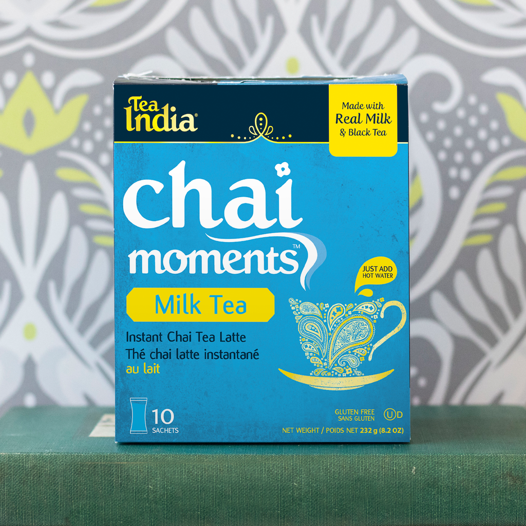 Instant Chai Tea Powder With Milk And Sugar - Instant Latte