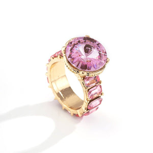 Load image into Gallery viewer, BLING BABY ✨Pink Diamond Ring
