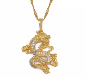 SLIMY SNAKE NECKLACE - Glo Babe