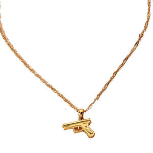 Load image into Gallery viewer, She's Ready Gun Necklace - Glo Babe