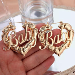 Mini Baby Love Earrings 💕🌸 - Glo Babe