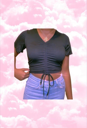 Don't Rush Cropped Top COZY Glo Babe