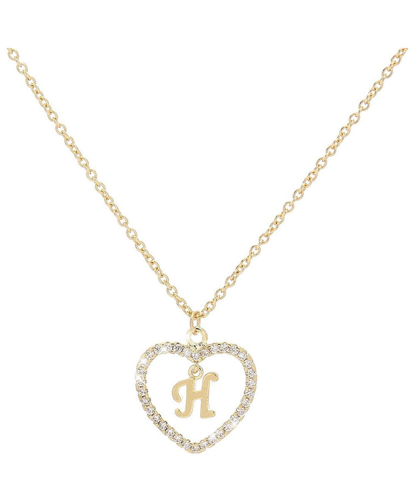 INTIAL HEART LUXE Necklace