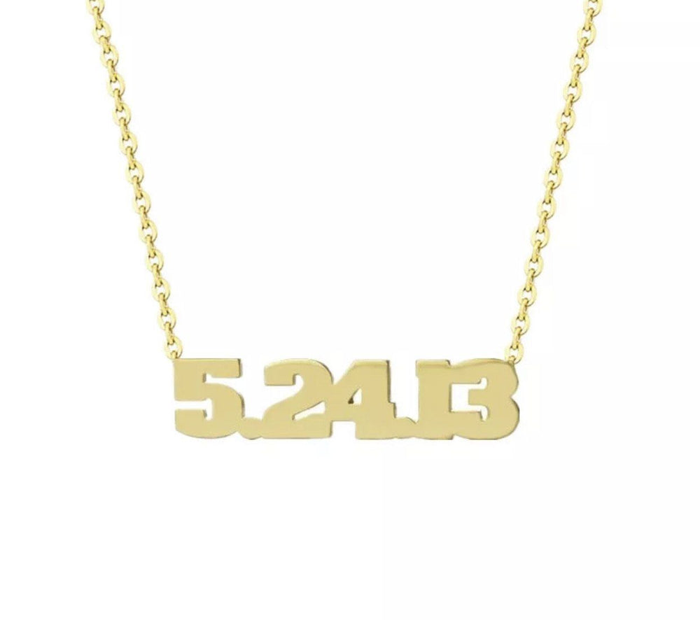 GLO LUXE SPECIAL DATE NECKLACE