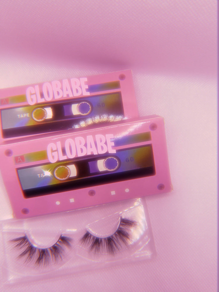 Load image into Gallery viewer, Cassette-Bae 3D Mink Lashes 🦋✨ - Glo Babe
