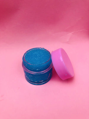 Load image into Gallery viewer, OCEAN BLUE Cotton Candy LIP SCRUB - Glo Babe