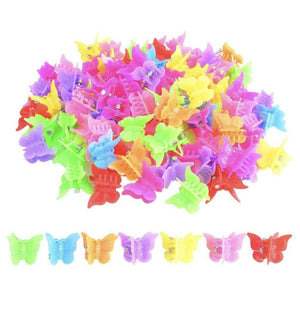 🦋🦋 She's a Vibe Butterfly Hair Clips 20pc ✨ - Glo Babe