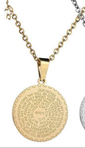 Lord's Prayer Necklace - Glo Babe