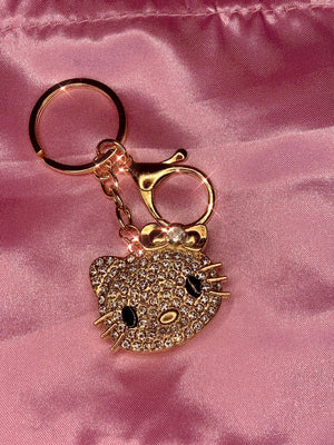 Hello Kitty Bling Keychain ✨