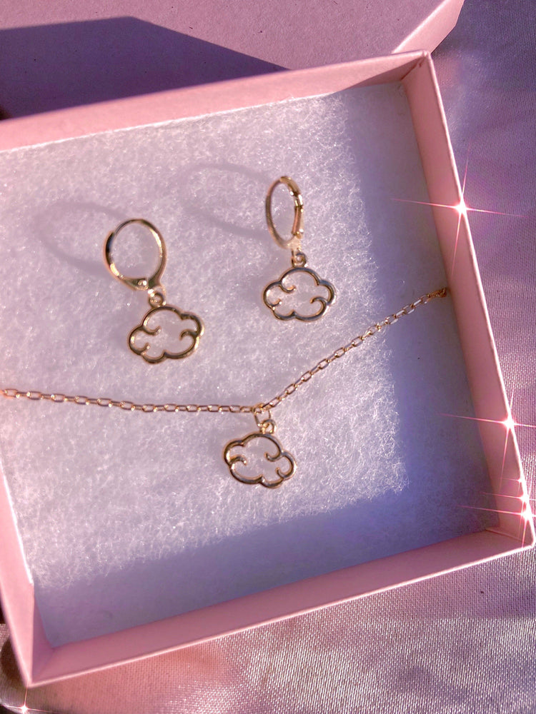 Cloud 9  Gift Set Earrings + Necklace