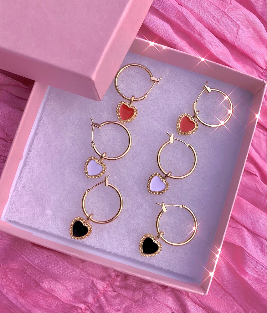 Load image into Gallery viewer, Heart You Babe ❤️ Earring Set