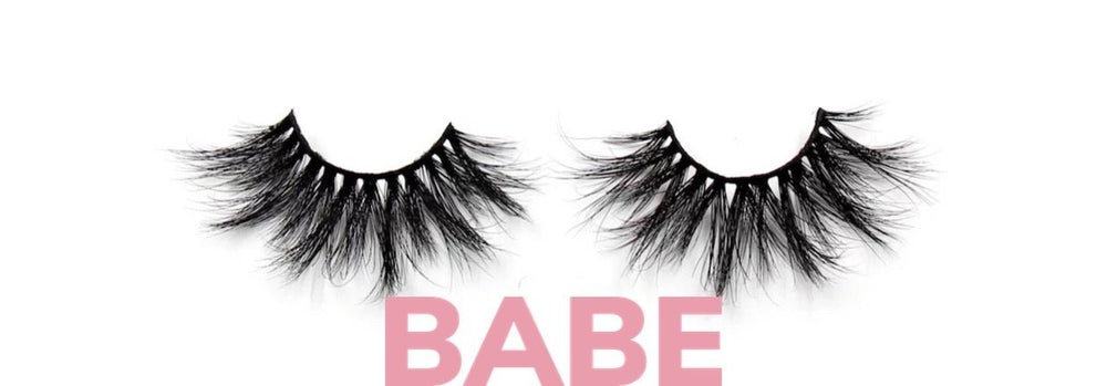 GLOW LASHES| Mink 5D 25MM Babe - Glo Babe