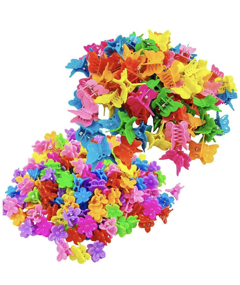 💖  🌸 She's a Vibe Flower Hair Clips 20pc ✨