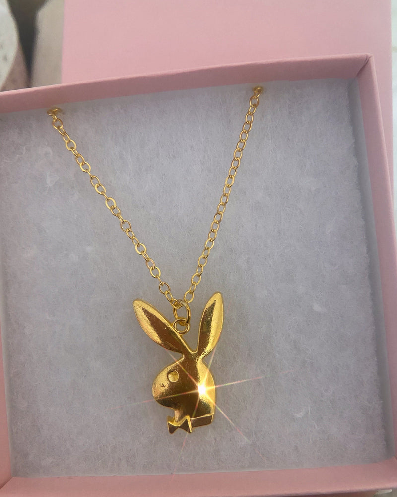 Playboy Bunny Necklace - Glo Babe