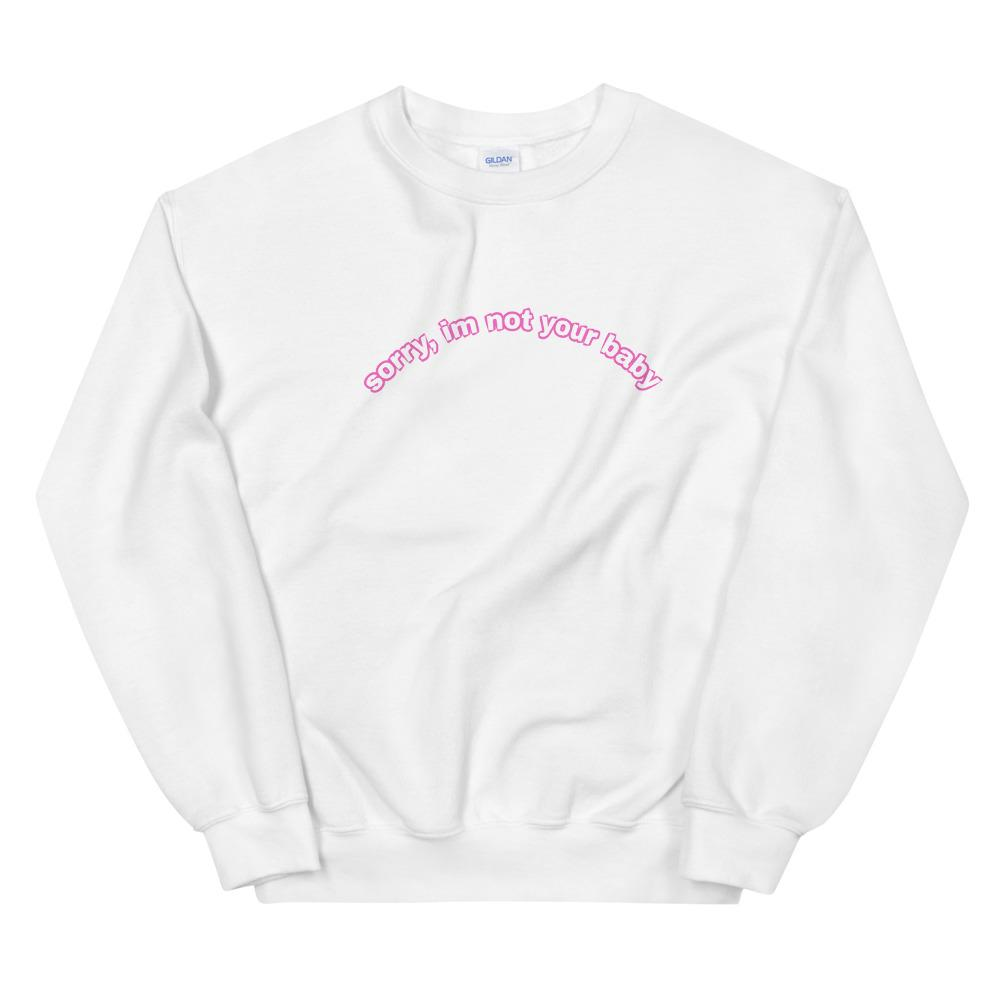 Load image into Gallery viewer, SRY BABE Sweatshirt - Glo Babe