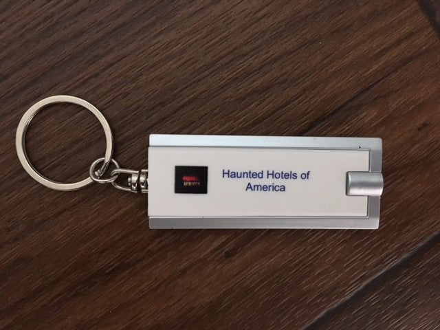 Lost in the Dark Haunted Hotels of America Keychain Light