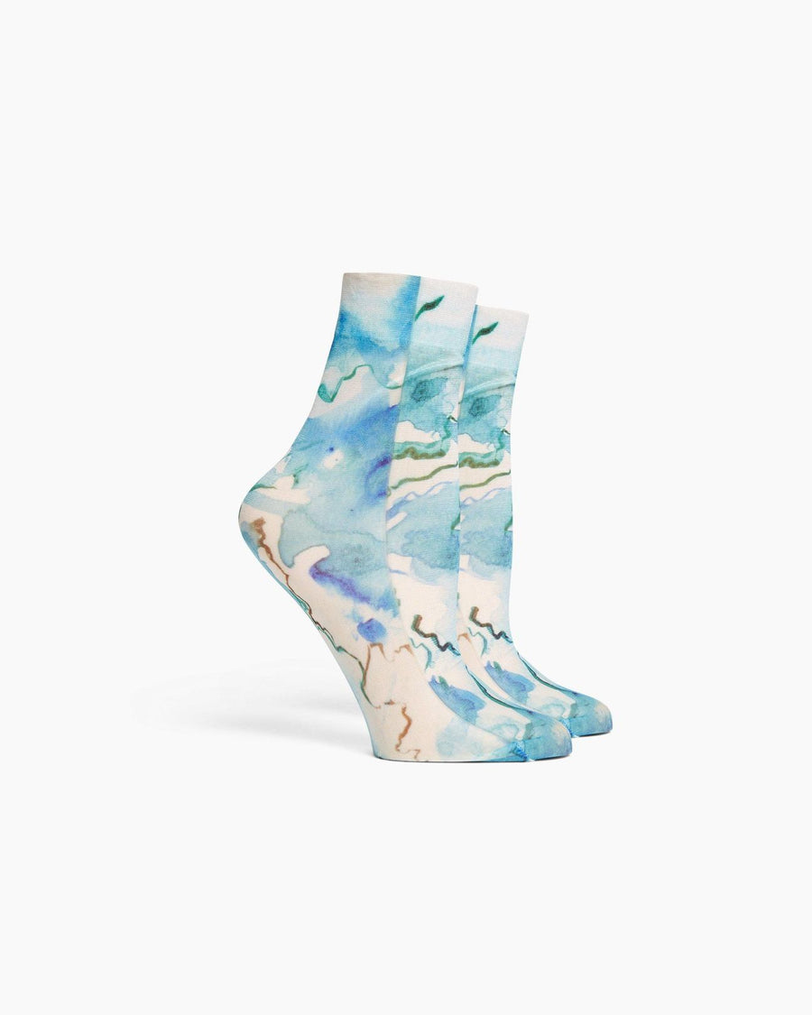Watercolor Socks | Richer Poorer
