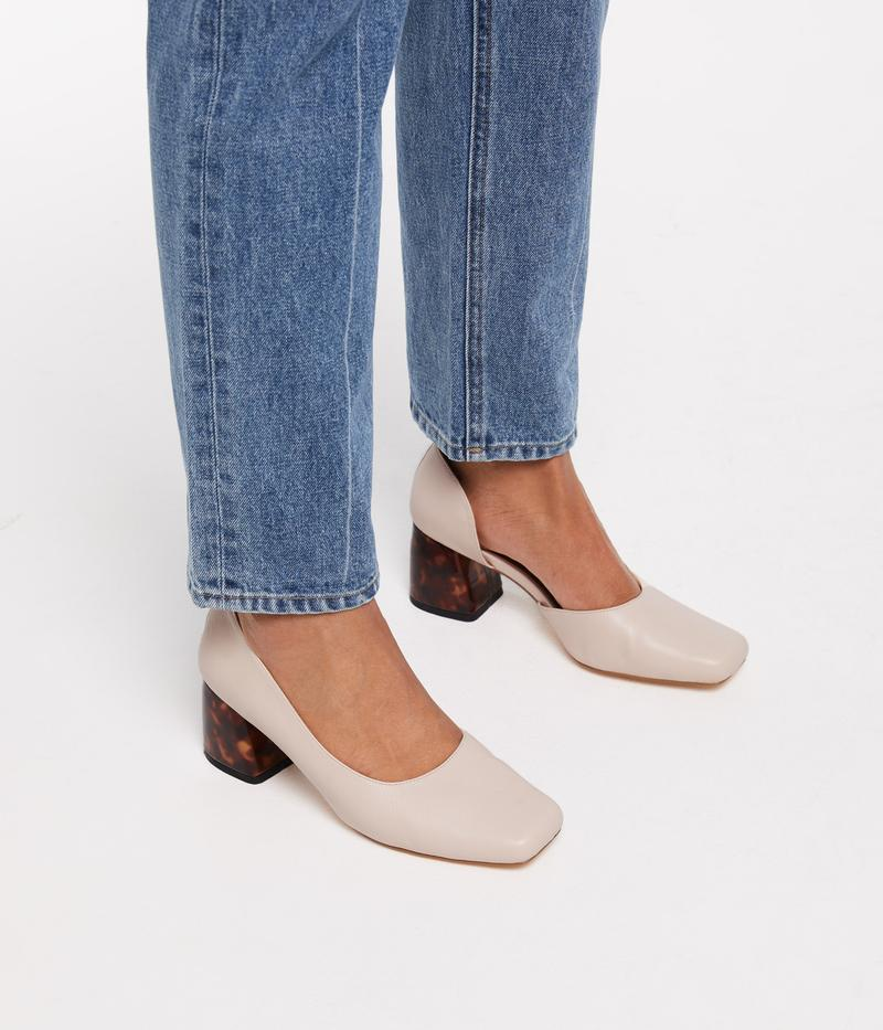 Pikosa Vegan Leather Heel | Matt & Nat