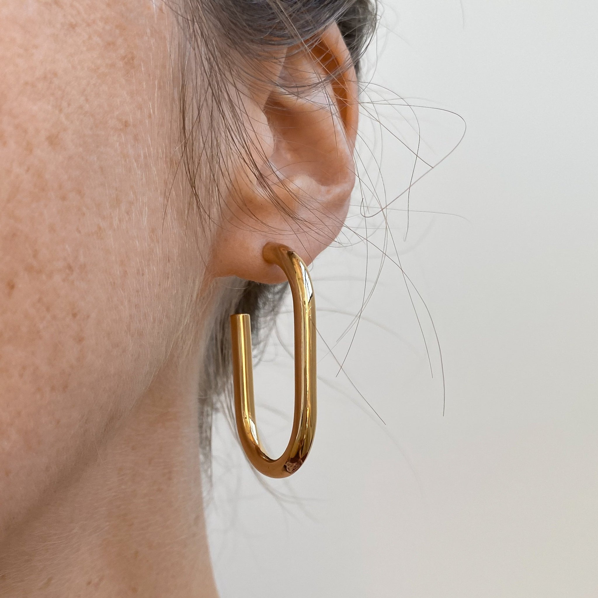 Athena Hoop Earrings | THATCH