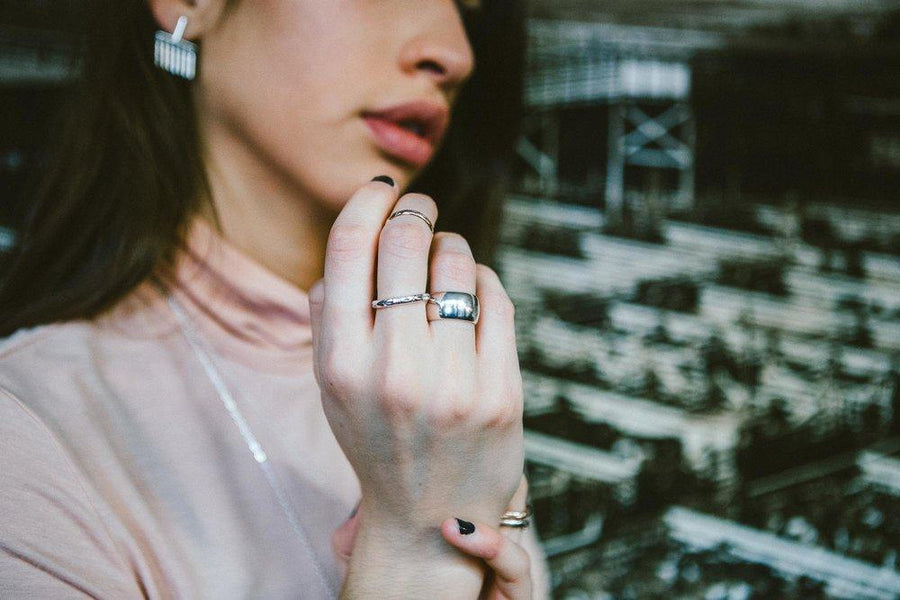 Unisex Renegade Ring | Sterling Silver | Sierra Winter