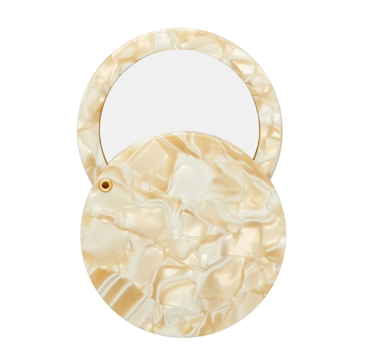 Circle Mirror in Ivory | MACHETE
