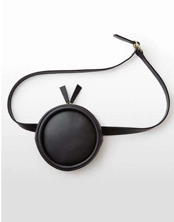 Circle Belt Bag in Black | Hozen Collection