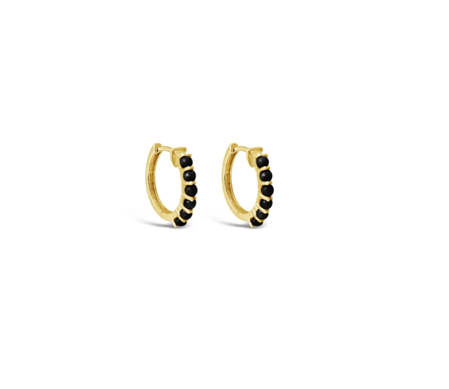 KARMA HOOP EARRINGS | Sierra Winter Jewelry