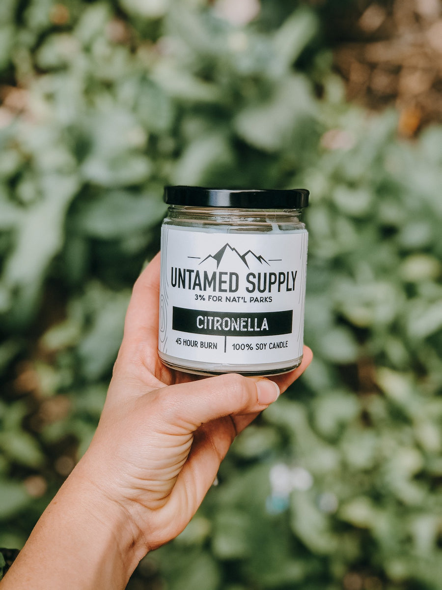 Citronella Candle | Untamed Supply