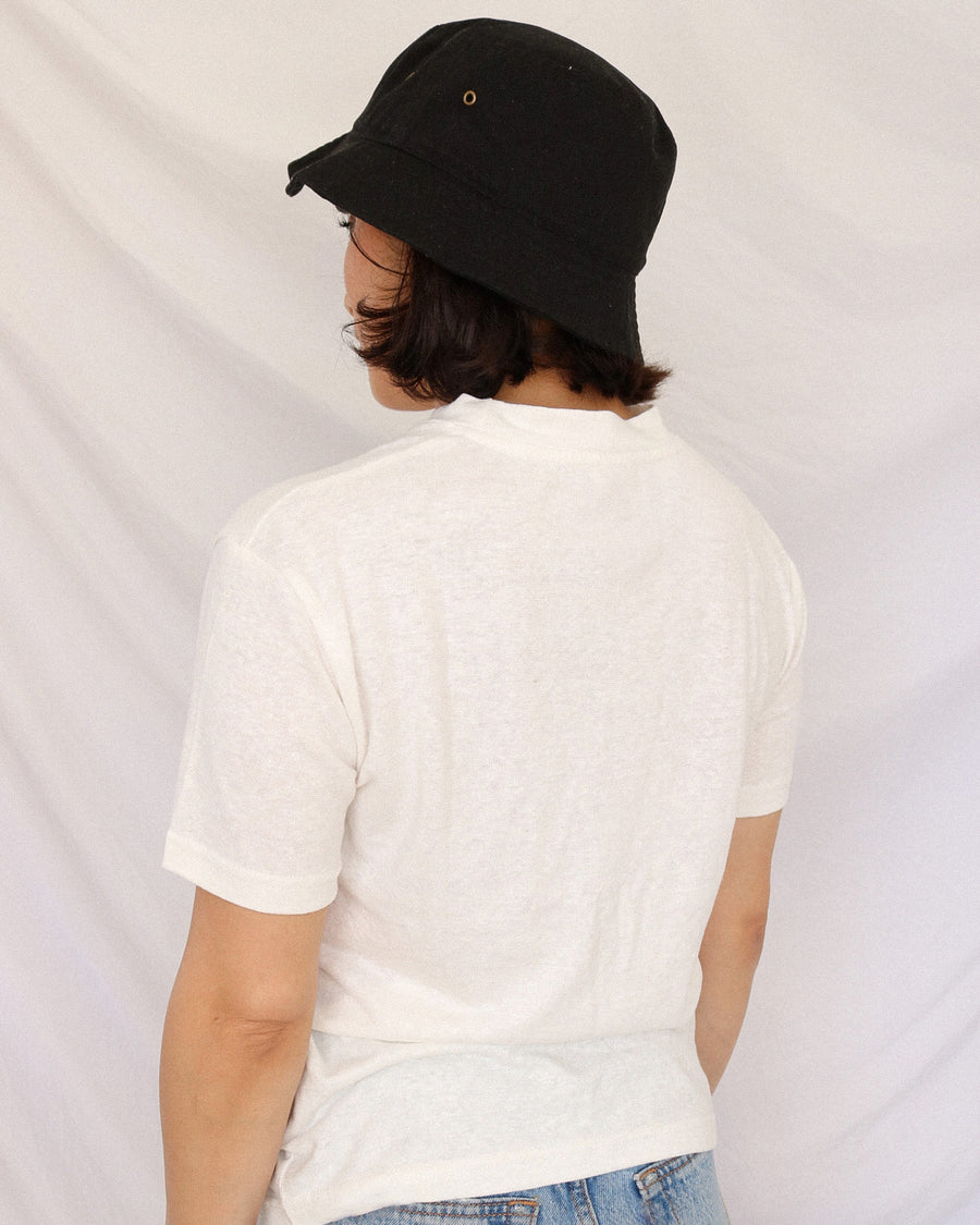 The Universal Tee in White | Orejas