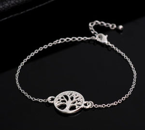 Chain Tree of Life Bracelets for Women