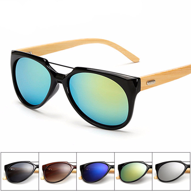 Wooden Frame Sunglasses Men/Women