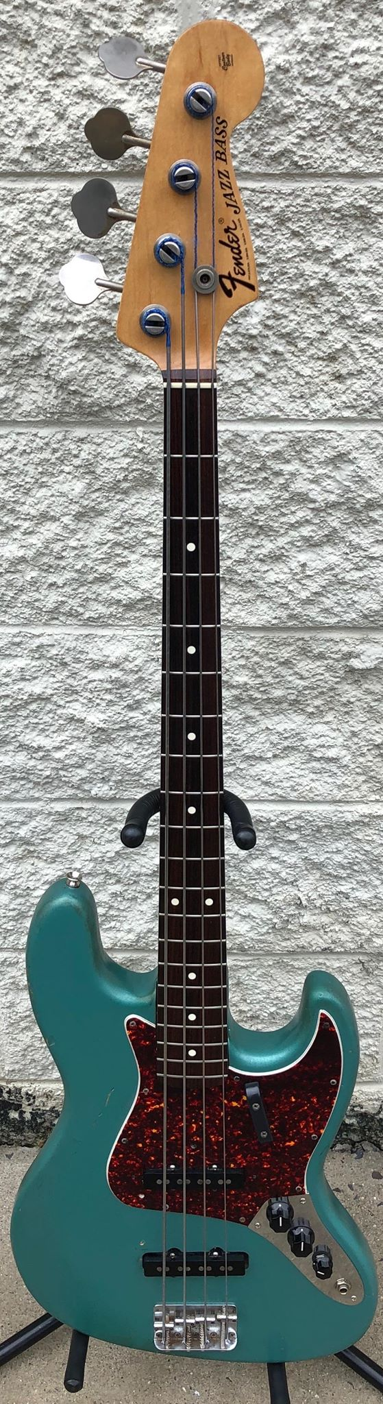 [SOLD] Fender Jazz Bass | 1972 Vintage | Hector Montes Medallion Neck