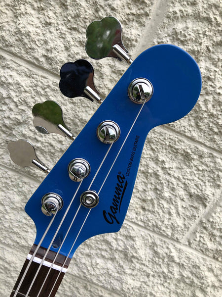 "GAMMA [SOLD] Custom P19-06, Alpha Model, Mosrite ""Ramones"" Blue"