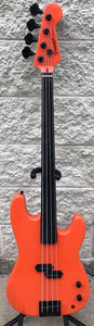 GAMMA Custom PF21-02, Fretless Alpha Model, Navajo Orange